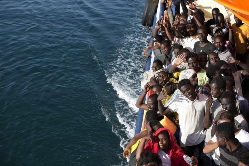 Meer actie tegen migratie naar Italië