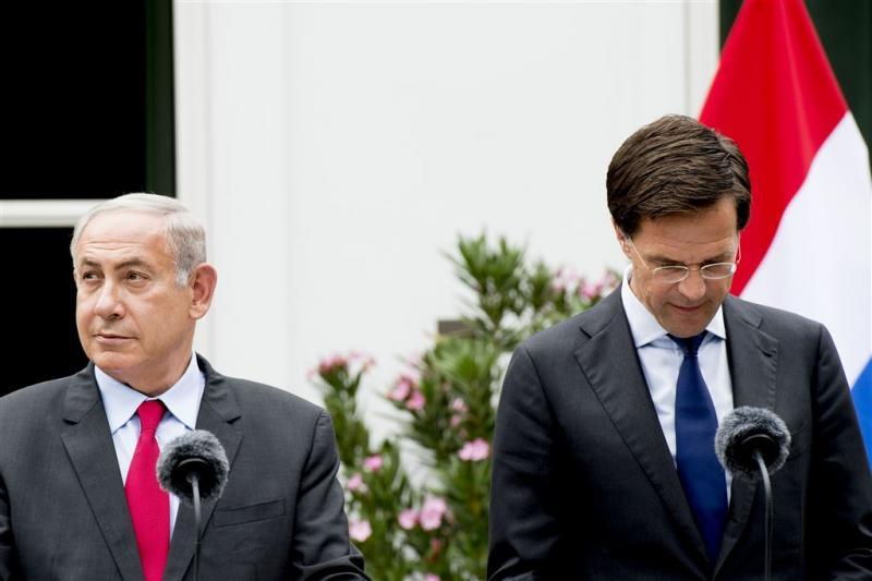 Rutte klaagt bij Israëlische premier
