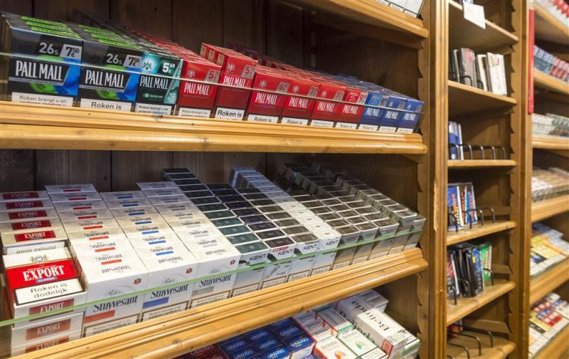 Sigaretten binnen vijf jaar uit het zicht