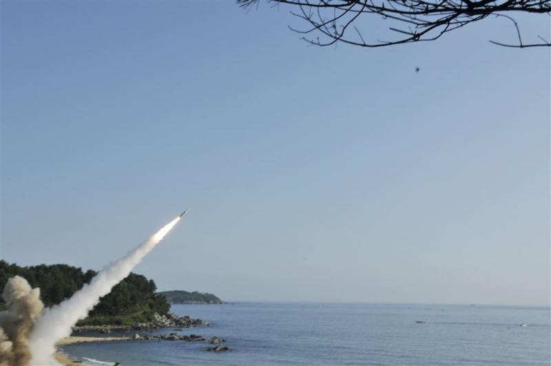 Amerikaanse en Zuid-Koreaanse troepen in actie