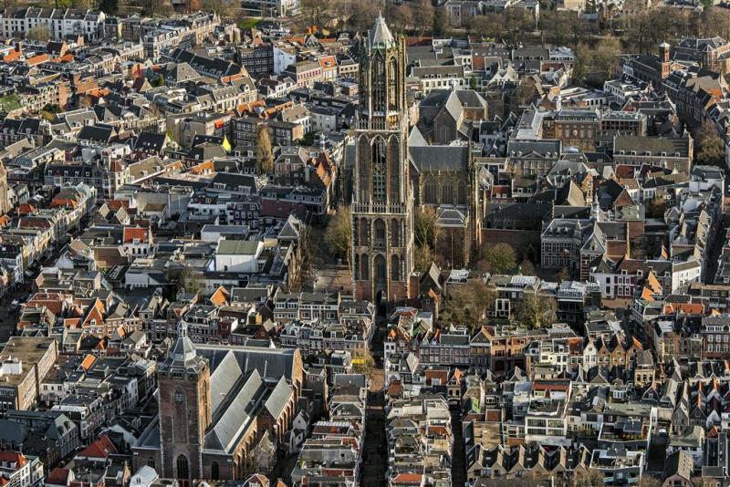 Schade aan Domtoren Utrecht neemt toe (Foto: ANP)