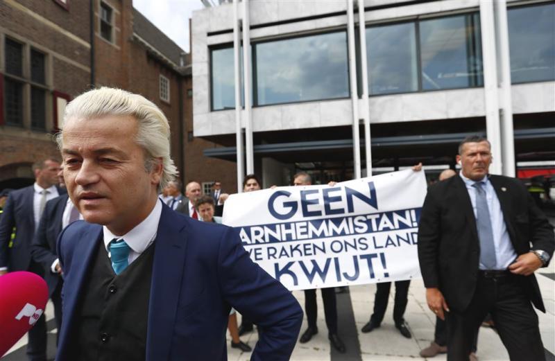 PVV, Pegida en NVU betogen tegen Marcouch