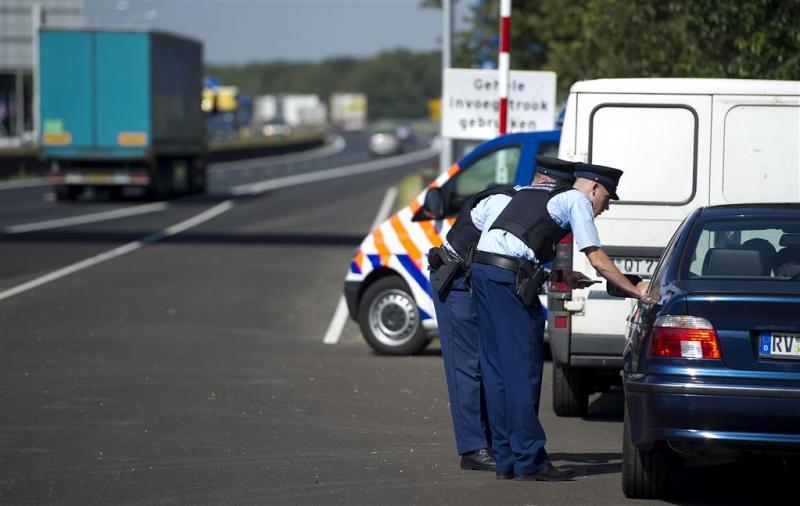 Activisten tegengehouden bij Duitse grens