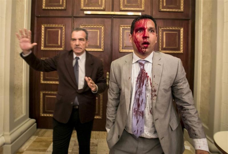 Gewonden bij aanval op parlement Venezuela
