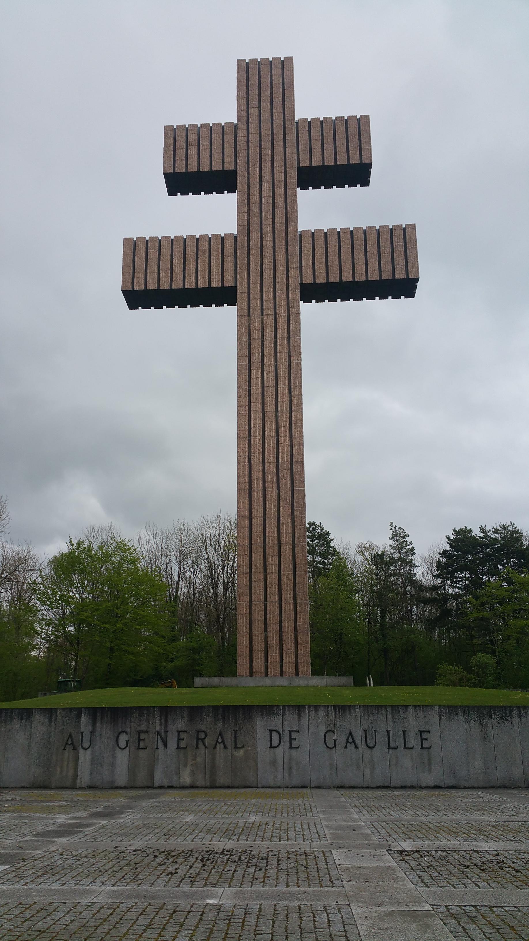 Het Croix de la Lorraine (Foto: Imgur)