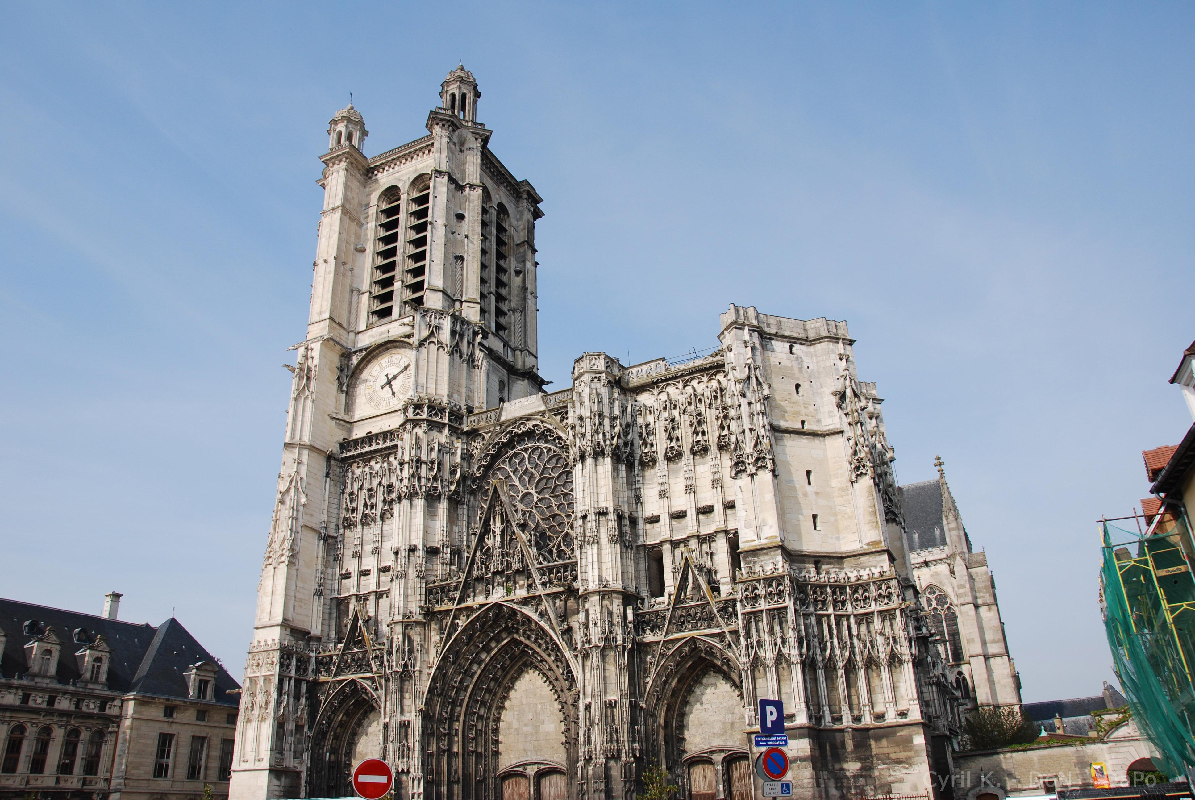 Ook de Kathedraal van Troyes is allerminst verkeerd (Foto: Panoramio)