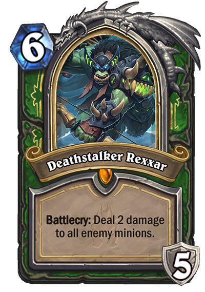 Death Knight Rexxar Hearthstone