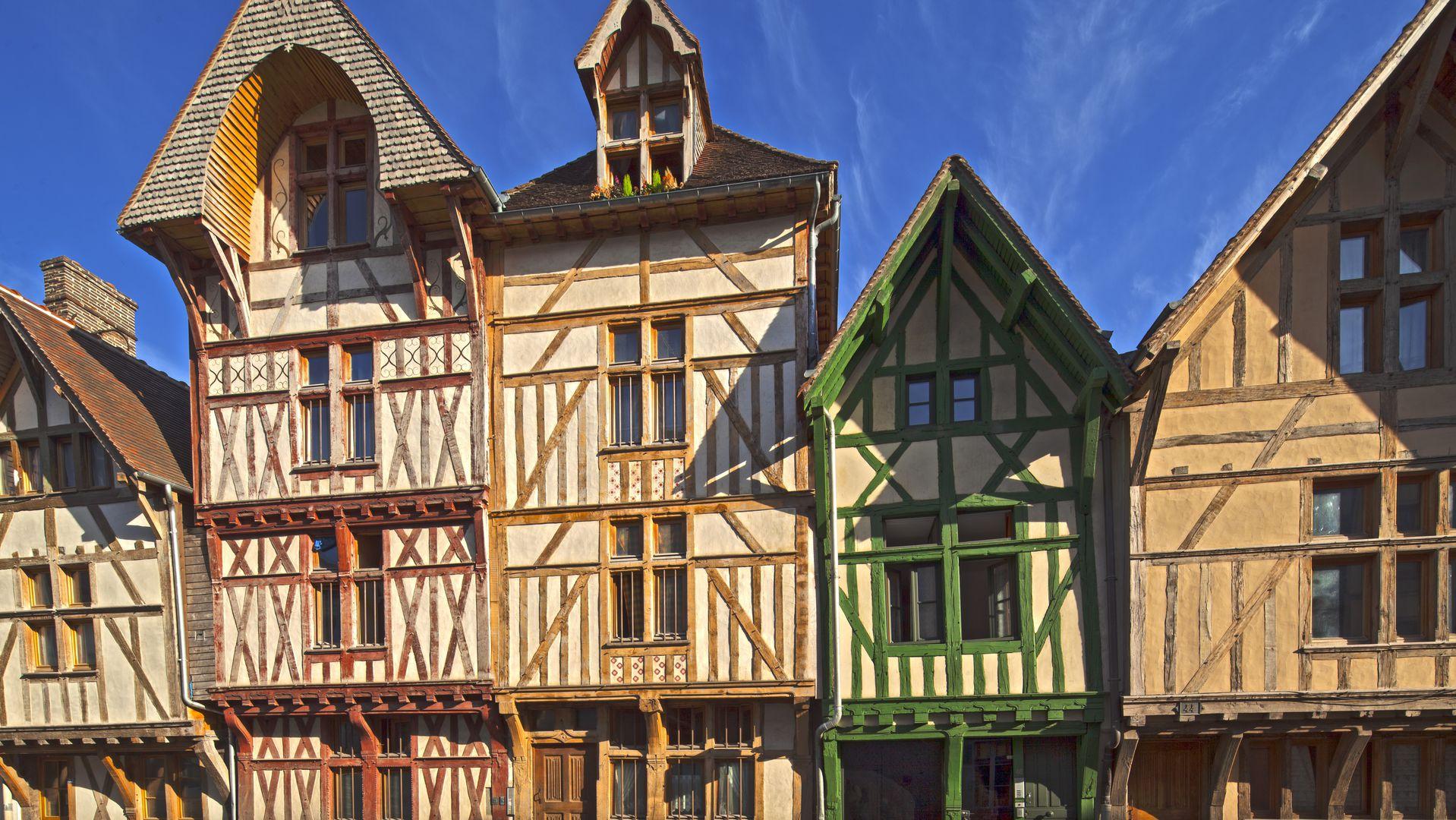 Nog één fraaie blik op Troyes alvorens we vertrekken (Foto: Panoramio)