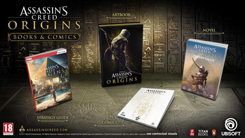 Assassin's Creed Origins publicaties (Foto: Ubisoft)