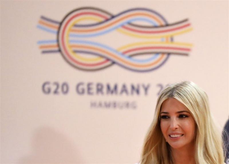 Ivanka Trump neemt plaats vader in op G20