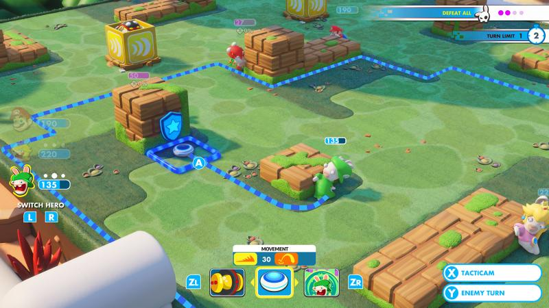 Mario + Rabbids: Kingdom Battle - Running (Foto: Ubisoft)