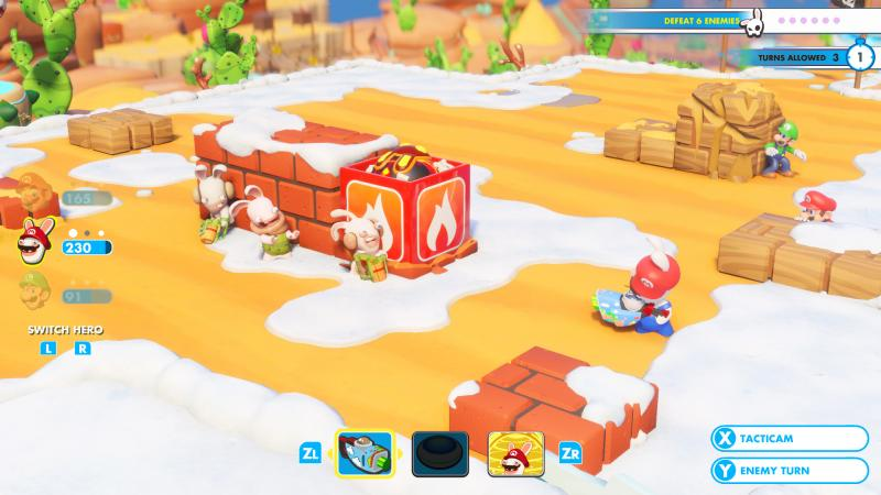 Mario + Rabbids: Kingdom Battle - Explosives (Foto: Ubisoft)