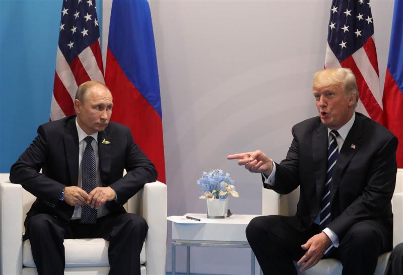 Trump: met Rusland werken aan cyberveiligheid