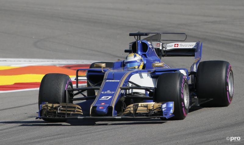 F1-team Sauber zonder motoren in 2018 (Pro Shots / Action Images)