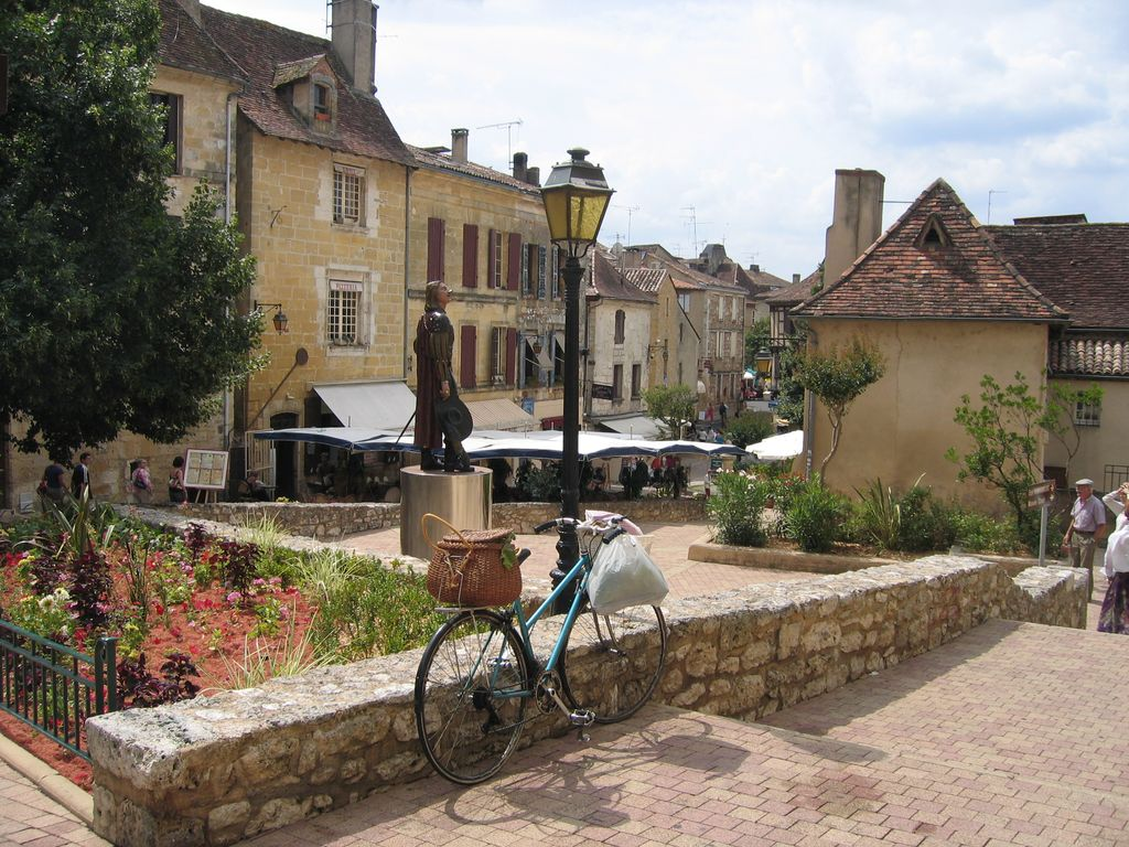 Het oude centrum van Bergerac (Foto: Panoramio)