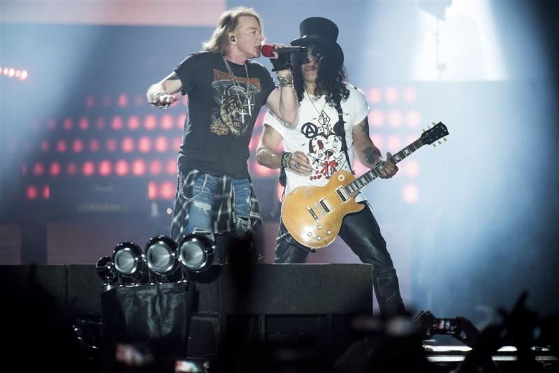 Guns N' Roses zorgt voor verkeerschaos