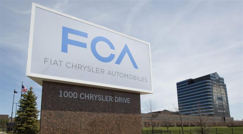 Grote terugroepactie Fiat Chrysler