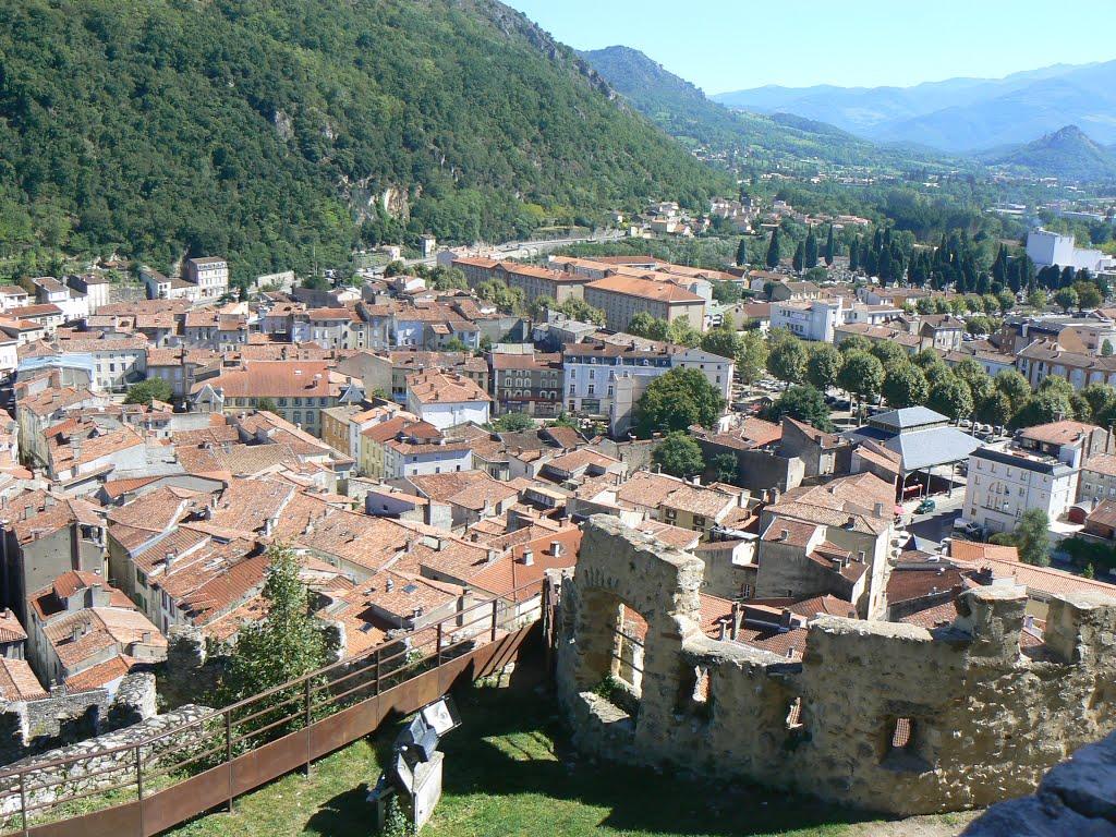 Op naar Foix voor de finish van de dag (Foto: Panoramio)