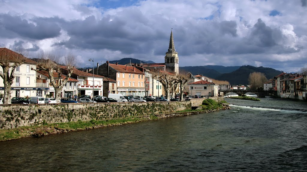 Het kleine Saint-Girons (Foto: Panoramio)