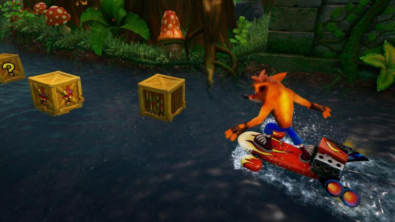 Crash op het water