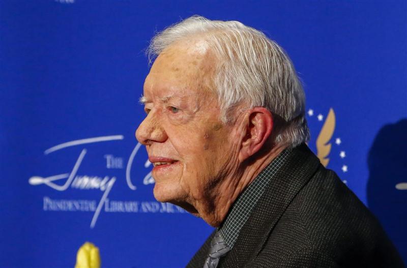 Oud-president Carter ontslagen uit ziekenhuis