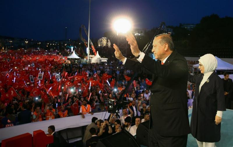 Erdogan blijft bereid doodstraf in te voeren