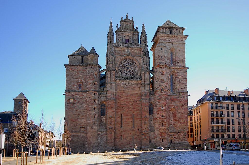 Rodez heeft meer moois dan alleen het muurtje (Foto: Panoramio)