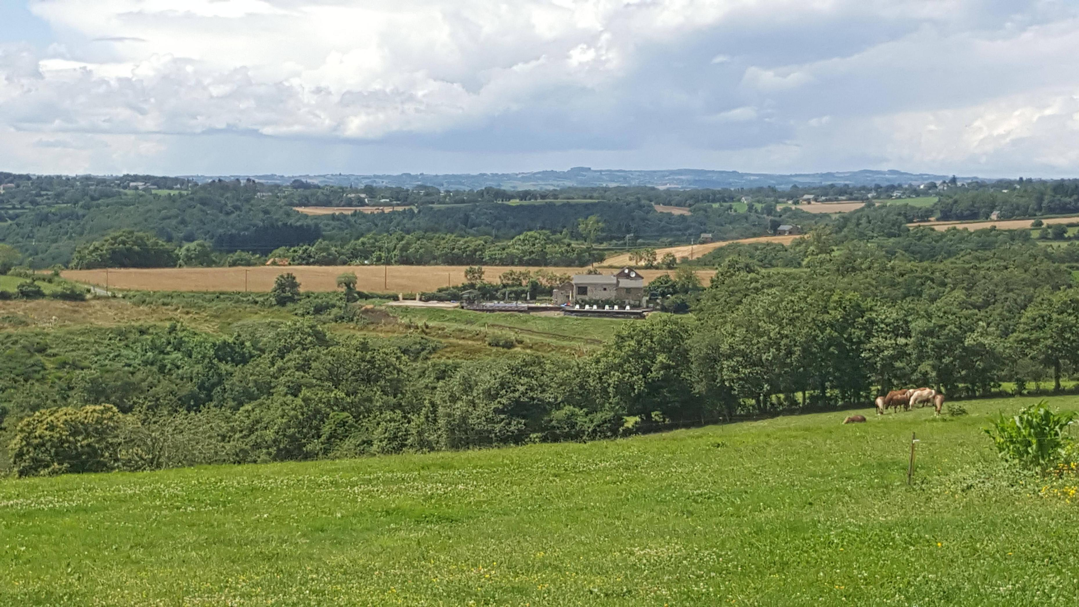 Ondanks de mijnbouw in de omgeving toch wat natuurschoon hier (Foto: Panoramio)