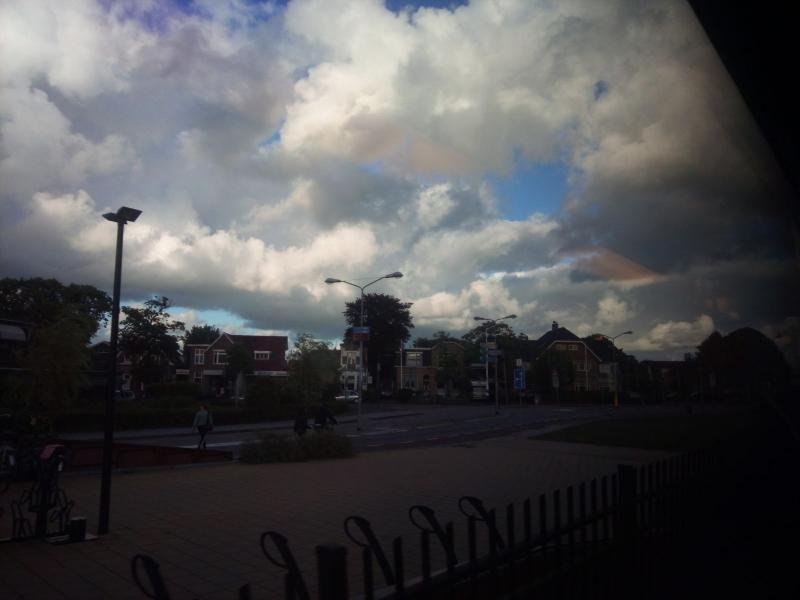 Wolken boven Castricum (Foto: DJMO)