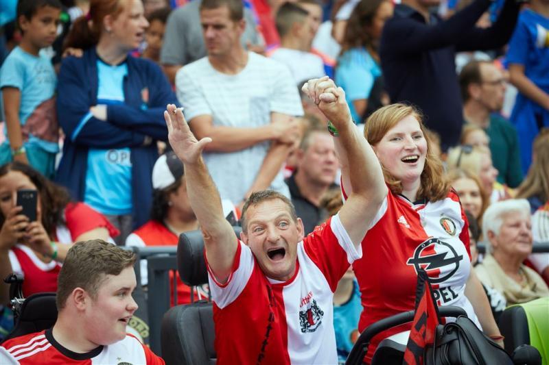 45.000 Feyenoordfans op open dag