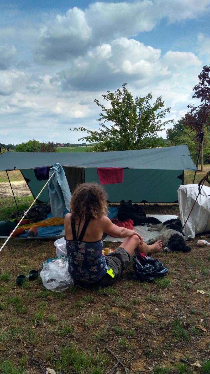 Sigme's survivaltocht naar Spanje - Kamp nabij Sittard (Foto: sigme)