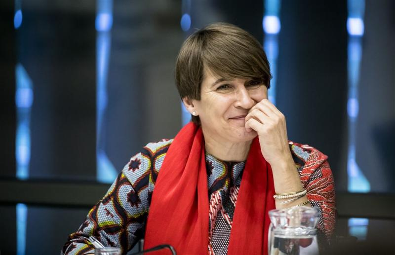 Ploumen naar New York en Washington