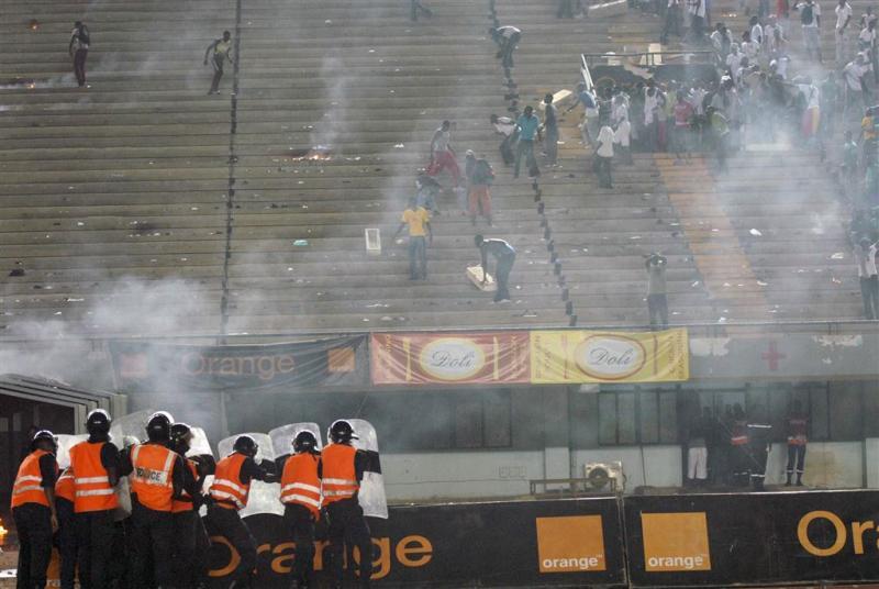 Acht doden bij voetbalfinale Senegal
