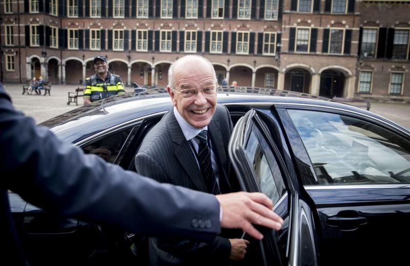Kabinetsformatie weer in Johan de Witthuis
