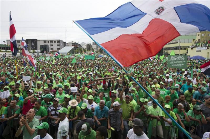 Dominicaans protest tegen corruptie overheid