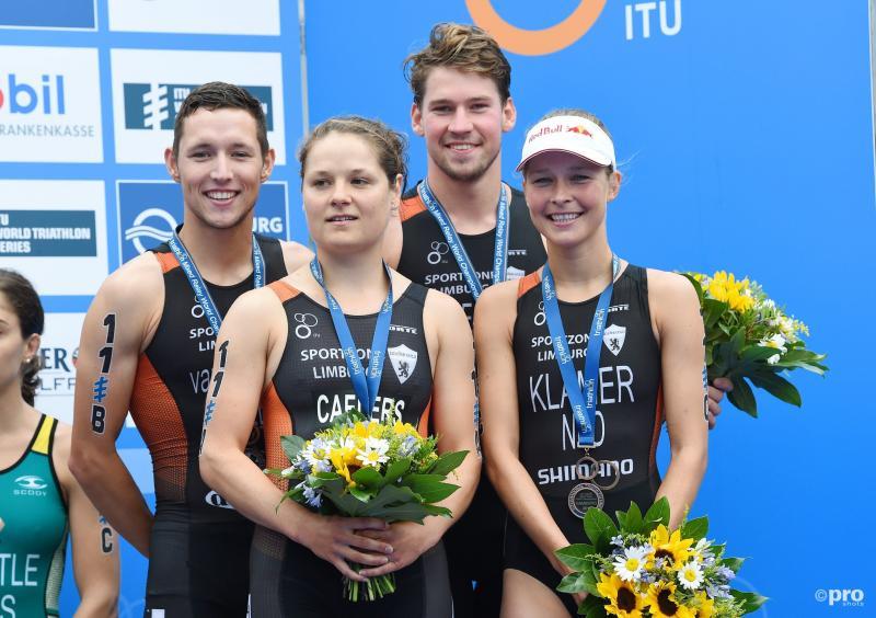 WK-brons voor Nederlandse triatleten (Pro Shots / Witters)