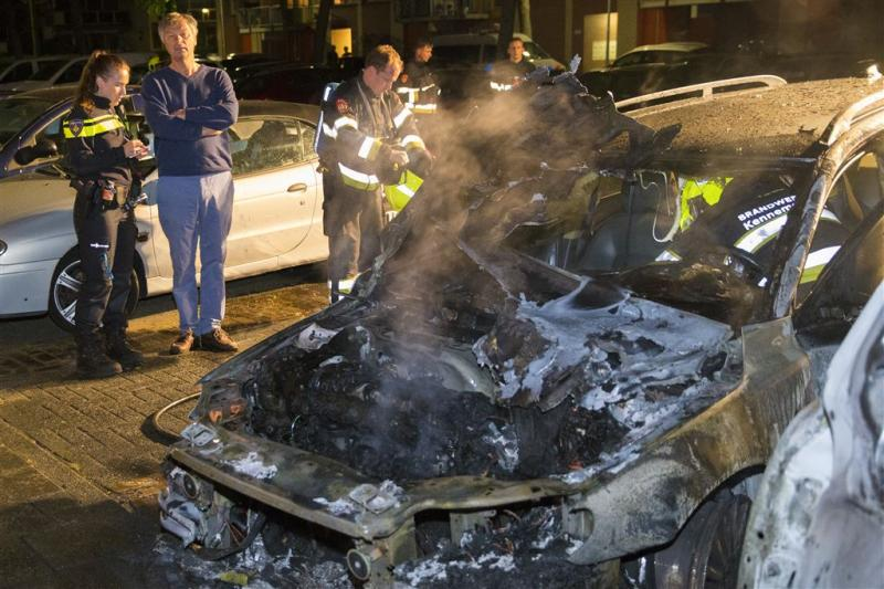 Brand burgemeestersauto: OM op dood spoor