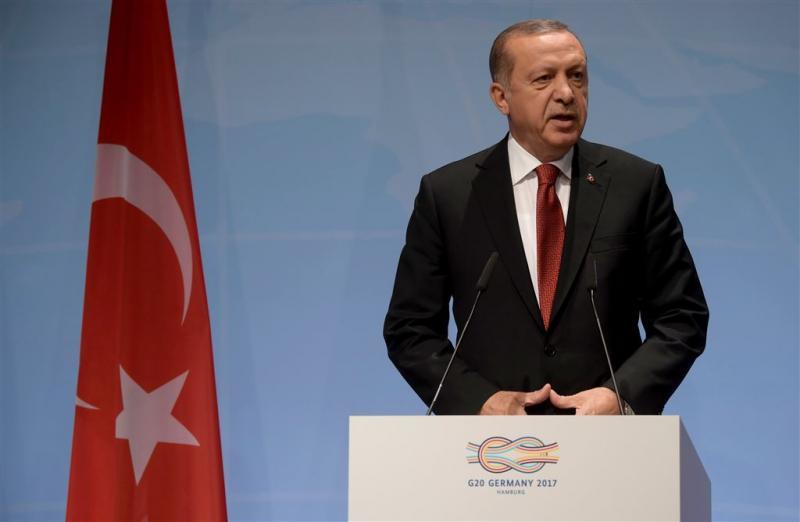 Erdogan naar ruziënde Arabische staten