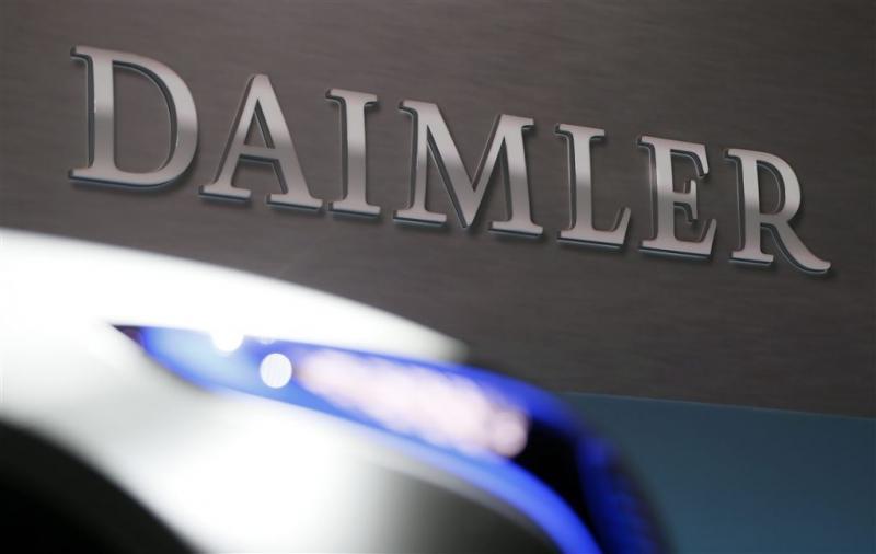 Grote recall Daimler wegens dieselschandaal