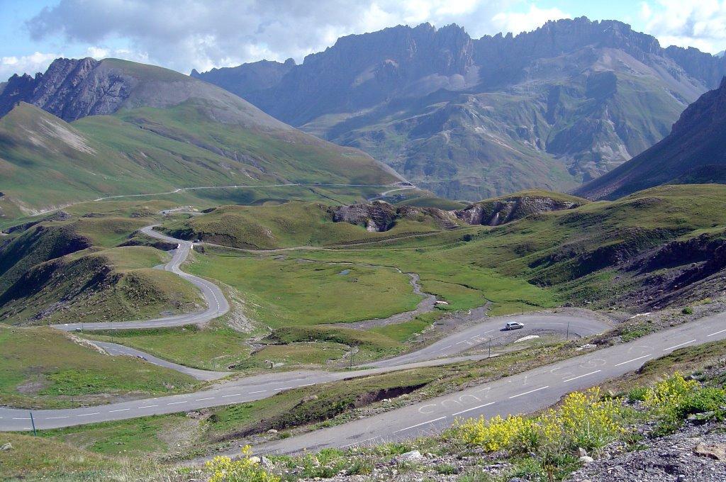 Ook de Galibier biedt weer mooie vergezichten (Foto: Panoramio)