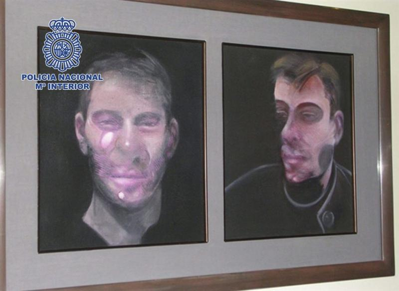Spaanse politie vindt doeken Bacon terug