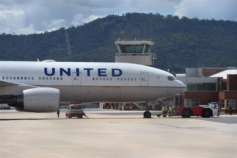 United Airlines ziet zomer niet zo zonnig in