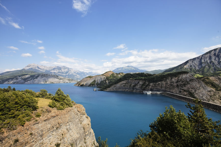 Het schitterende Lac de Serre-Ponçon (Foto: Panoramio)