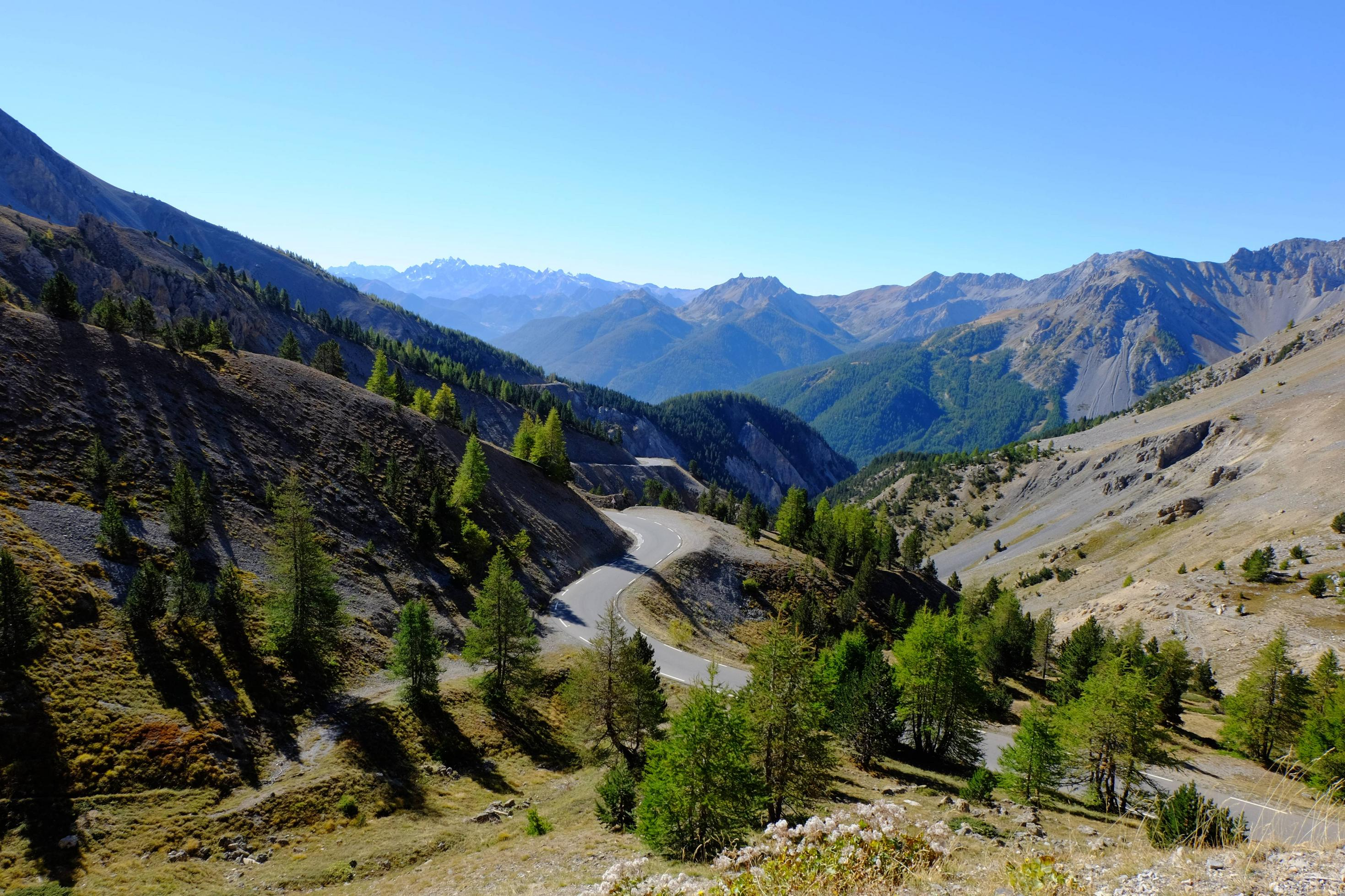 Ook bij de Col d'Izoard is het natuurschoon niet te missen (Foto: Panoramio)