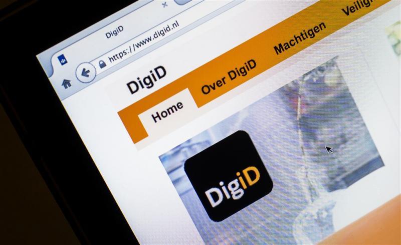 Aangifte doen met app DigiD