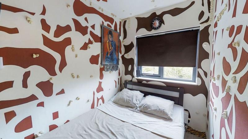 Verwilderde woning in Roosendaal (Foto: Funda)