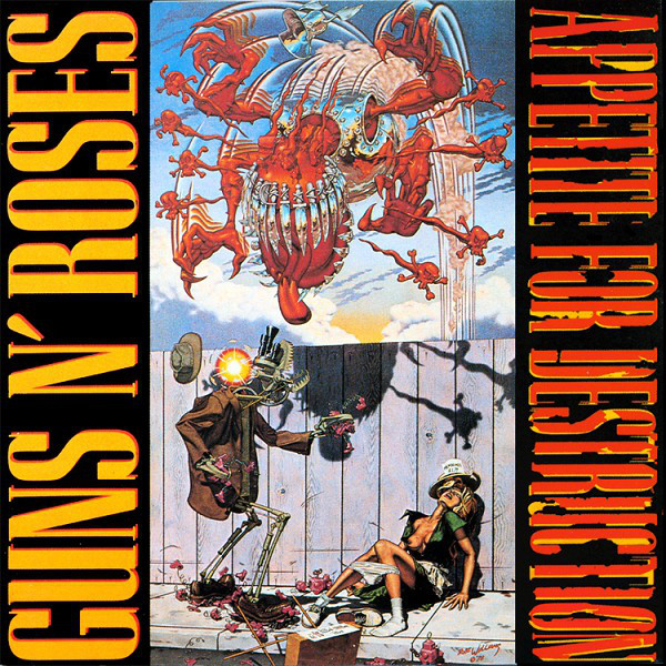 Guns 'N Roses - Appetite for Destruction