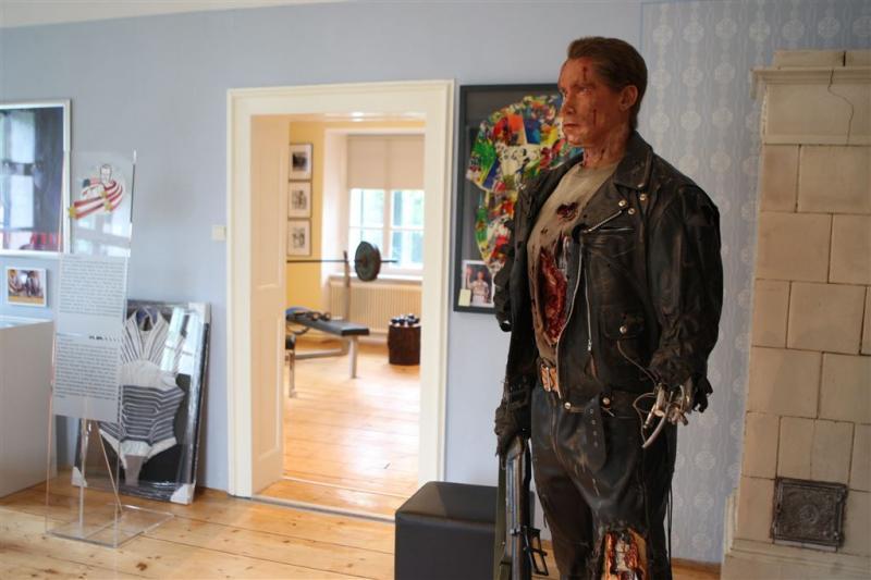 Schwarzenegger tevreden met eigen museum