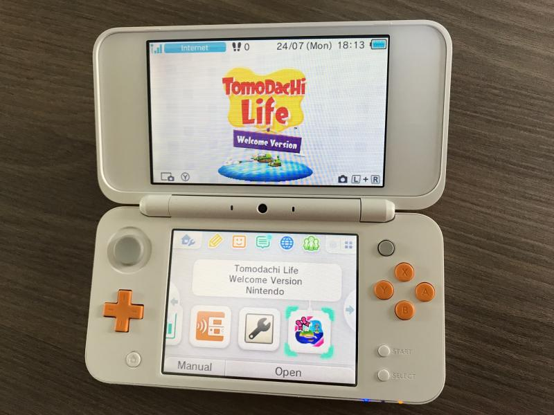 New Nintendo 2DS XL - Open (Foto: Nintendo)