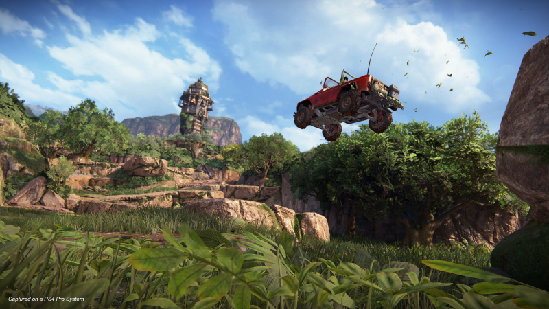 Uncharted 4 – The Lost Legacy - Turbo Boost